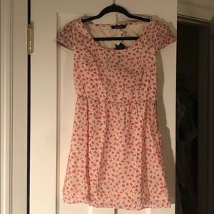 Ark & Co NWT floral open back dress, size M
